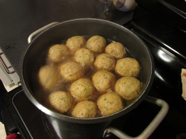 matzoh balls!